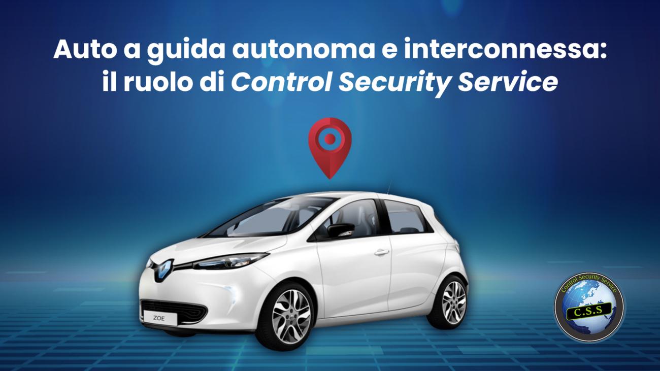 auto a guida autonoma, control security service